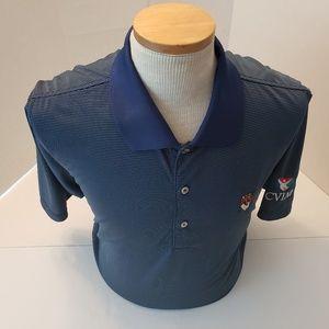 Peter Millar Blue Striped Summer Comfort XL